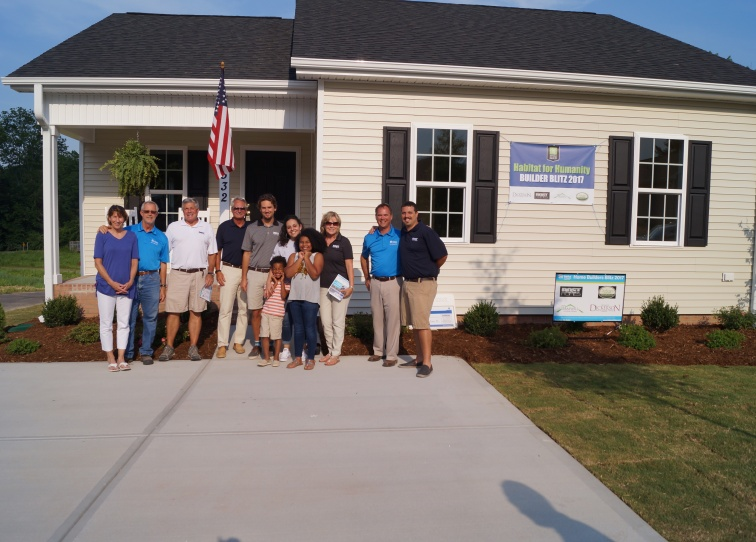 Newly Built Home Habitat for Humanity of Wake County