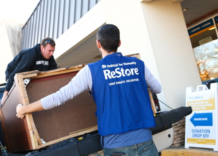 Restore Volunteering Habitat for Humanity Wake County